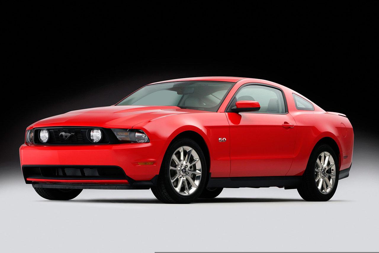 Постер на подрамнике Mustang-99