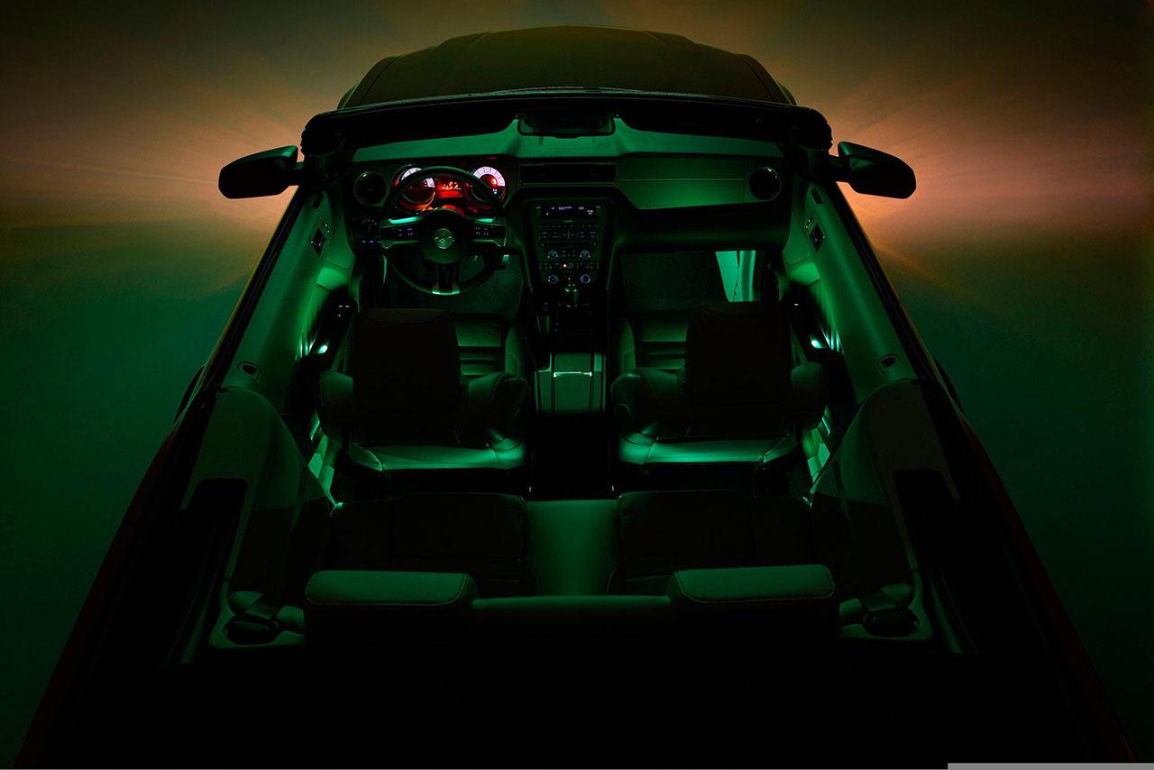Постер на подрамнике Mustang-115