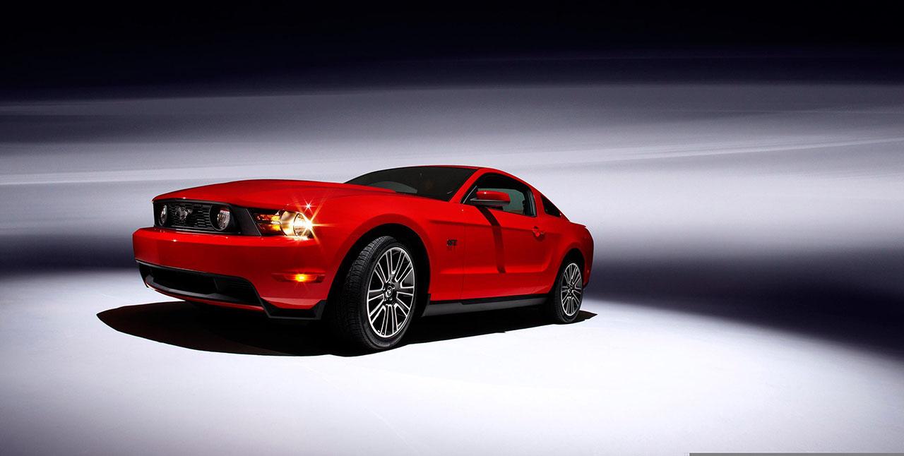 Постер на подрамнике Mustang-128