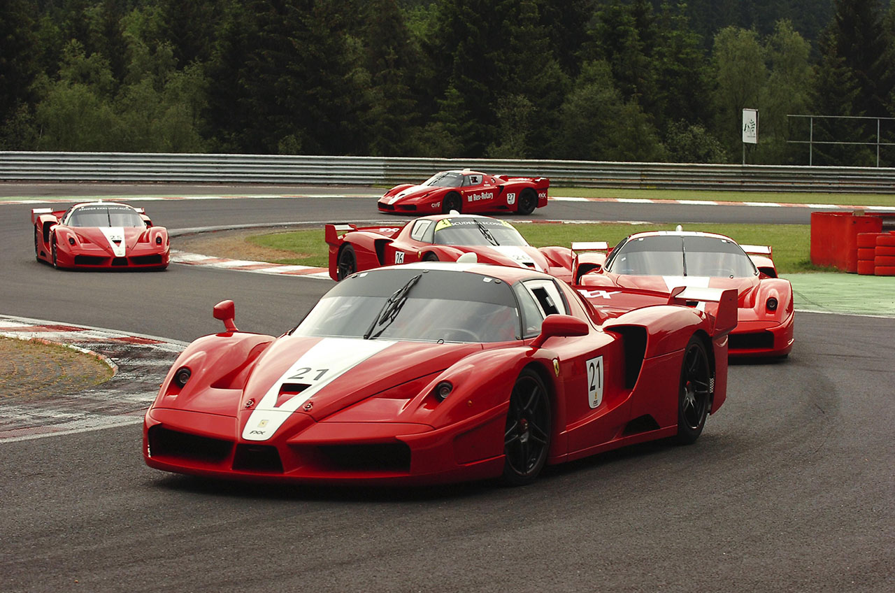 Постер на подрамнике Феррари (Ferrari)-34