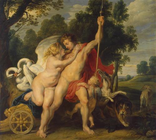 Плакат Venus and Adonis
