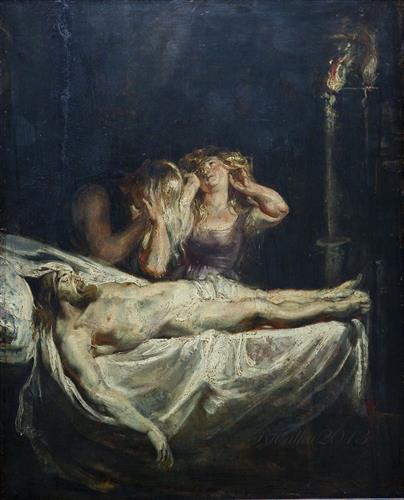 Плакат Lamentation
