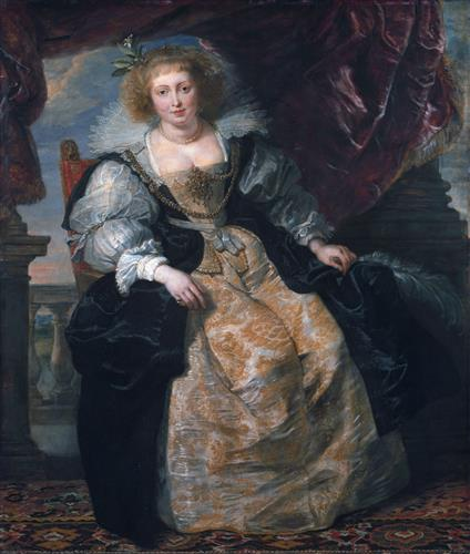 Плакат Portrait of Helene Fourment in Her Bridal Gown
