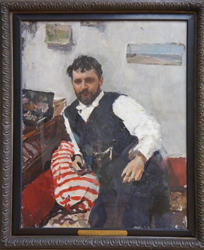 Постер на подрамнике Портрет К.Коровина