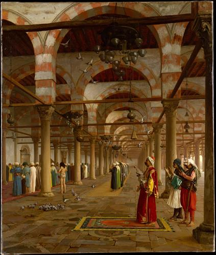 Плакат Prayer in the Mosque