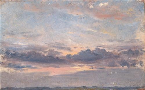 Плакат A Cloud Study Sunset