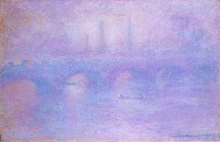 Постер на подрамнике мост Ватерлоо Waterloo bridge