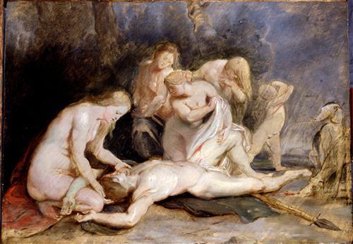 Постер (плакат) Venus Mourning Adonis