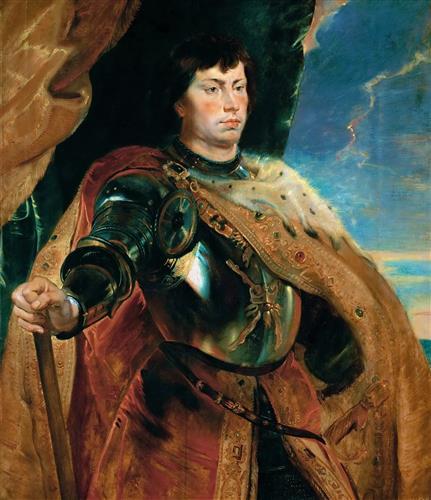 Постер на подрамнике Портрет Карла Смелого герцога Бургундского