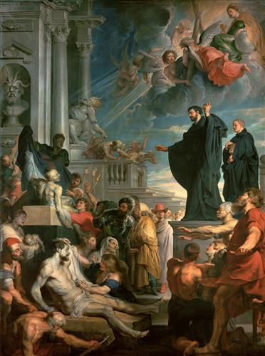 Постер на подрамнике The miracles of St. Francis Xavier