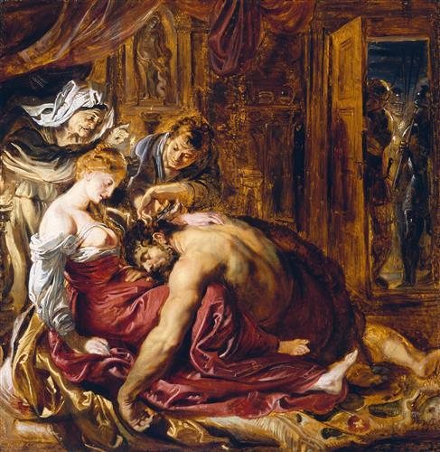 Постер на подрамнике Samson and Delilah