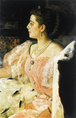 Плакат Портрет княгини Н.П. Головиной
