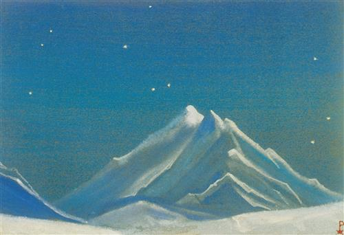 Плакат Ночь. Эверест. 1938
