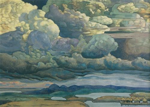 Плакат Небесный бой. 1912