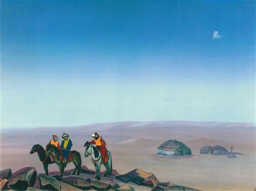 Постер на подрамнике Монголия