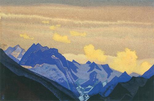 Плакат Ледники Гималаев