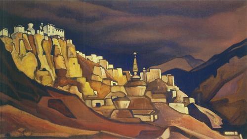 Постер на подрамнике Ладакх. монастырь ламаюру