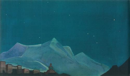 Плакат Королевский монастырь. Тибет