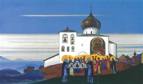 Плакат Звенигород