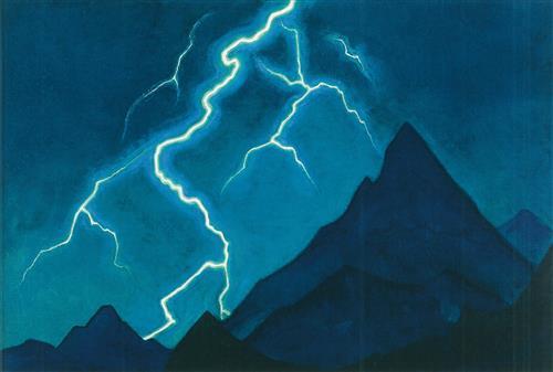 Постер на подрамнике Зов неба. Молния