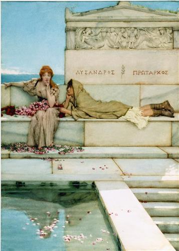 Плакат Xanthe and Phaon