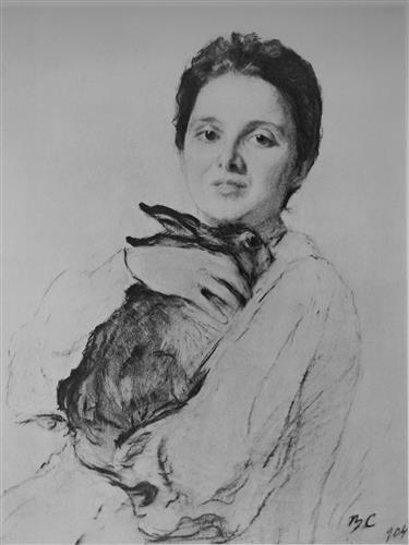 Плакат Обнинская с зайчиком