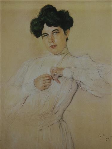 Плакат Портрет Марии Боткиной