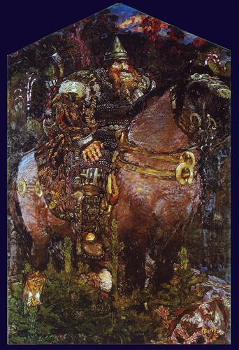 Плакат Богатырь