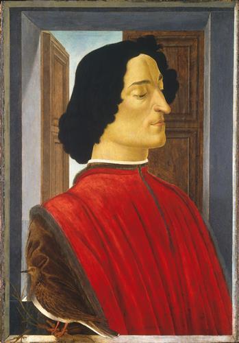 Постер на подрамнике Portrait of the Giuliano de Medici