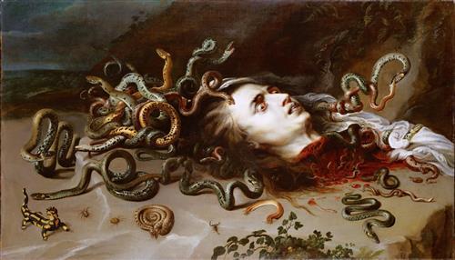 Постер на подрамнике The Head of Medusa