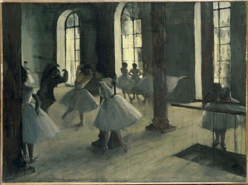 Плакат La Repetition au foyer de la danse