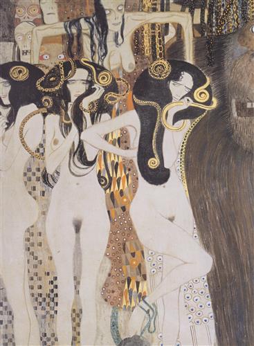 Постер на подрамнике Бетховенский фриз-7
