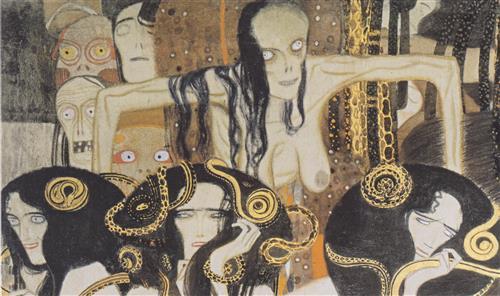 Постер на подрамнике Бетховенский фриз-9