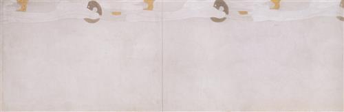 Постер на подрамнике Beethoven Frieze, 2 Left Side Wall