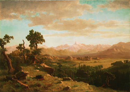 Постер на подрамнике Wind River Country