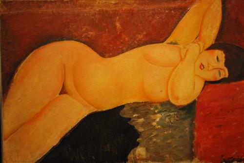 Плакат Ritratto di Moise Kisling ad opera