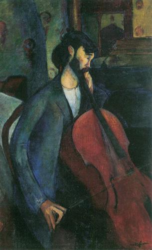 Плакат The Cellist