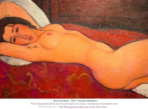 Плакат Reclining Nude