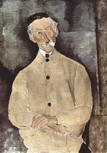 Плакат Portrait of Monsieur Lepoutre