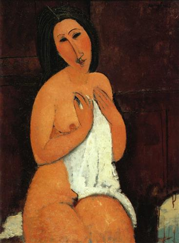 Постер на подрамнике Seated Nude