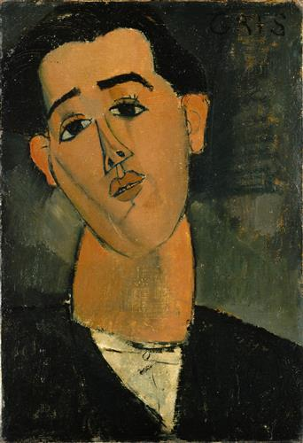 Постер на подрамнике Portrait of Juan Gris