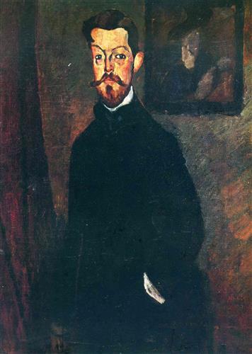 Постер на подрамнике Portrait of Paul Alexandre