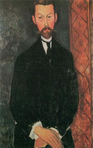 Постер на подрамнике Portrait of Paul Alexander