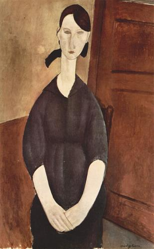 Постер на подрамнике Portrat der Paulette Jourdain