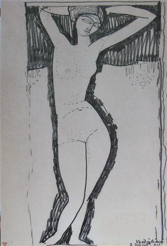 Постер на подрамнике Nude