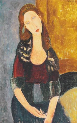 Постер на подрамнике Jeanne Hebutern