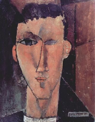 Плакат Portrait of Raymond