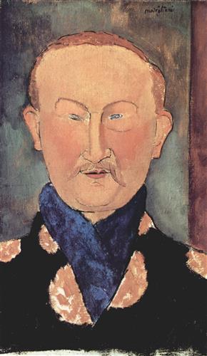 Плакат Portrait of Leon Bakst