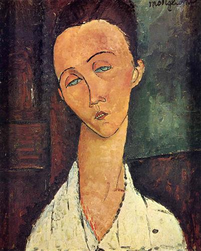 Постер на подрамнике Portrait of Lunia Czechowska