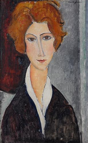 Постер на подрамнике Portrait de Femme